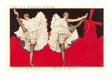 Can-Can Girls at Moulin Rouge Giclee Print