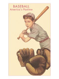Baseball, America's Pastime Posters