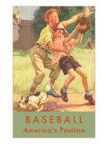 Baseball, America's Pastime Prints