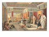 Daily Life in Pompeii Prints