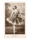 Anna Pavlova in Ballet Pose Prints