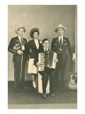 Cowboy Musical Ensemble Prints