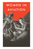 Women in Aviation, Rosie the Riveter Poster