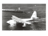 Spruce Goose Landing on the Water Print