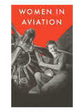 Women in Aviation, Rosie the Riveter Prints