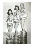 Beauties with Film Canisters Print