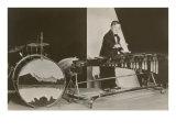 Young Boy Playing Marimbas Prints