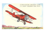 Army Training Biplane PT11C Prints