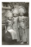 Balinese Temple Dancers Prints