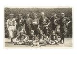 Vintage Baseball Team Print