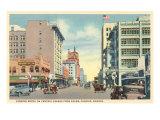 Downtown Phoeniz, Arizona Poster