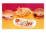Burgers, Fries, Sloppy Joe Prints