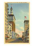 First Street, San Jose, California Poster