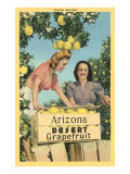 Women with Grapefruit, Arizona Prints