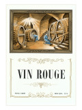 Vin Rouge Label Posters
