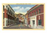Main Street, Bisbee, Arizona Kunstdruck