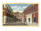 Main Street, Bisbee, Arizona Poster