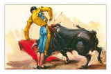 Bullfighting Scene Posters