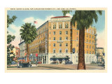 Hotel Sainte Claire, San Jose, California Prints
