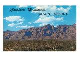 Catalina Mountains, Tucson, Arizona Posters