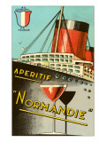 Aperitif Normandie Advertisement Poster