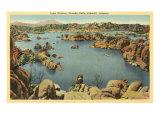 Lake Watson, Granite Dells, Prescott, Arizona Prints