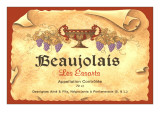Beaujolais Label Art