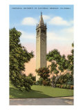 University Campanile, Berkeley, California Art