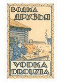 Russian Vodka Advertisement Prints