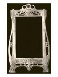 Art Nouveau Mirror Frame Posters