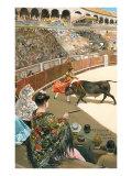 Matador Killing Bull Prints