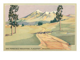 San Francisco Mountains, Flagstaff, Arizona Prints