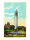 University Campanile, Berkeley, California Print