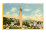 University Campanile, Berkeley, California Poster