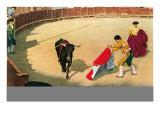 Bullfighting Lesson Poster