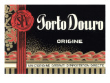 Porto Douro Port Label Posters