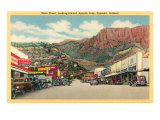 Main Street of Superior, Arizona Posters