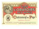 Fancy French Wine Label Prints