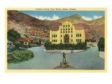 Cochise County Courthouse, Bisbee, Arizona Prints