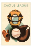 Phantom Cactus League Catcher, Arizona Posters