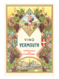 Italian Vermouth Label Prints