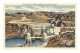 Boulder Dam and Arizona Spillway Prints