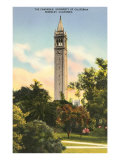 University Campanile, Berkeley, California Prints