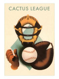 Phantom Cactus League Catcher, Arizona Poster