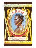 Rhum, Black Woman Prints