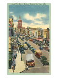 First Street, San Jose, California Print