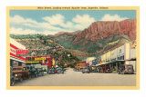Main Street of Superior, Arizona Prints