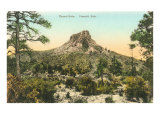 Thumb Butte, Prescott, Arizona Poster