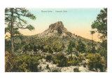 Thumb Butte, Prescott, Arizona Posters