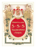 Sherry Label Prints